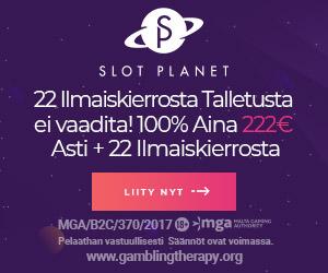 10 euroa ilmaista rahaa slot planet